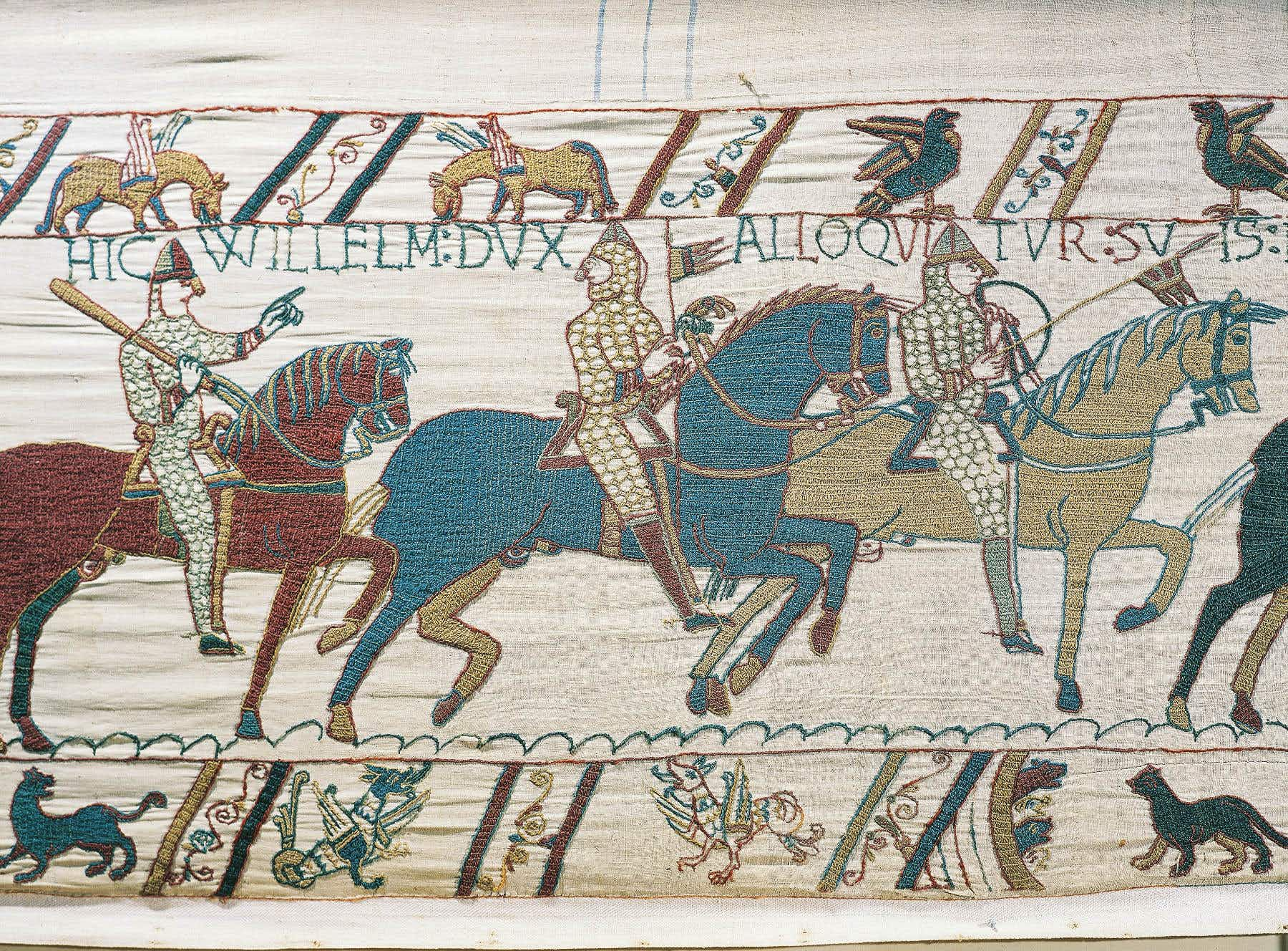 The Bayeux Tapestry will go on display in Britain for the first time