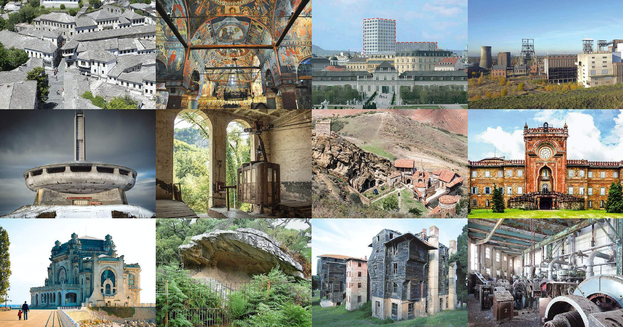 Europe's most endangered heritage sites are in the spotlight