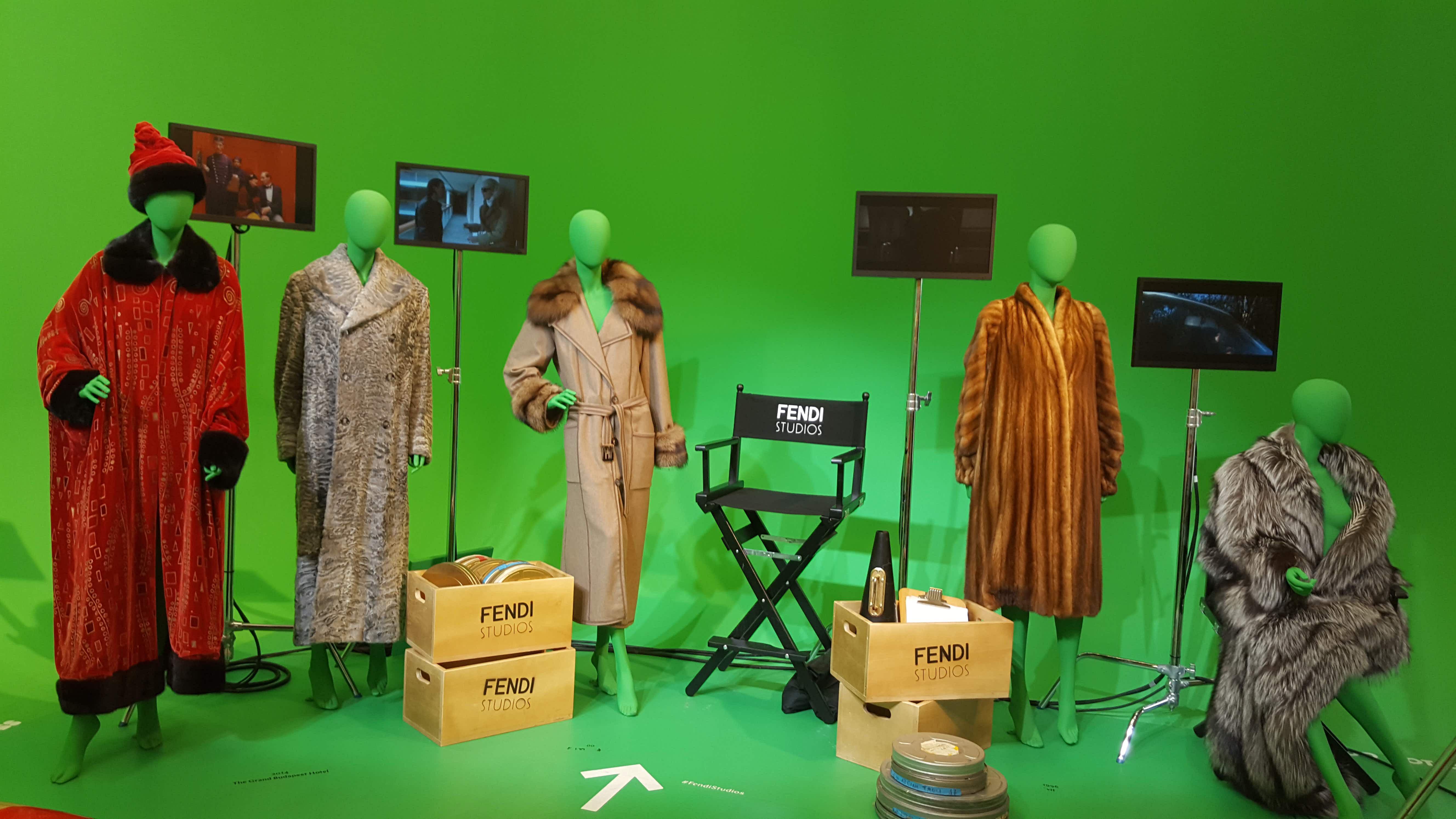 Fendi celebrates relationship with cinema in new Rome exhibit