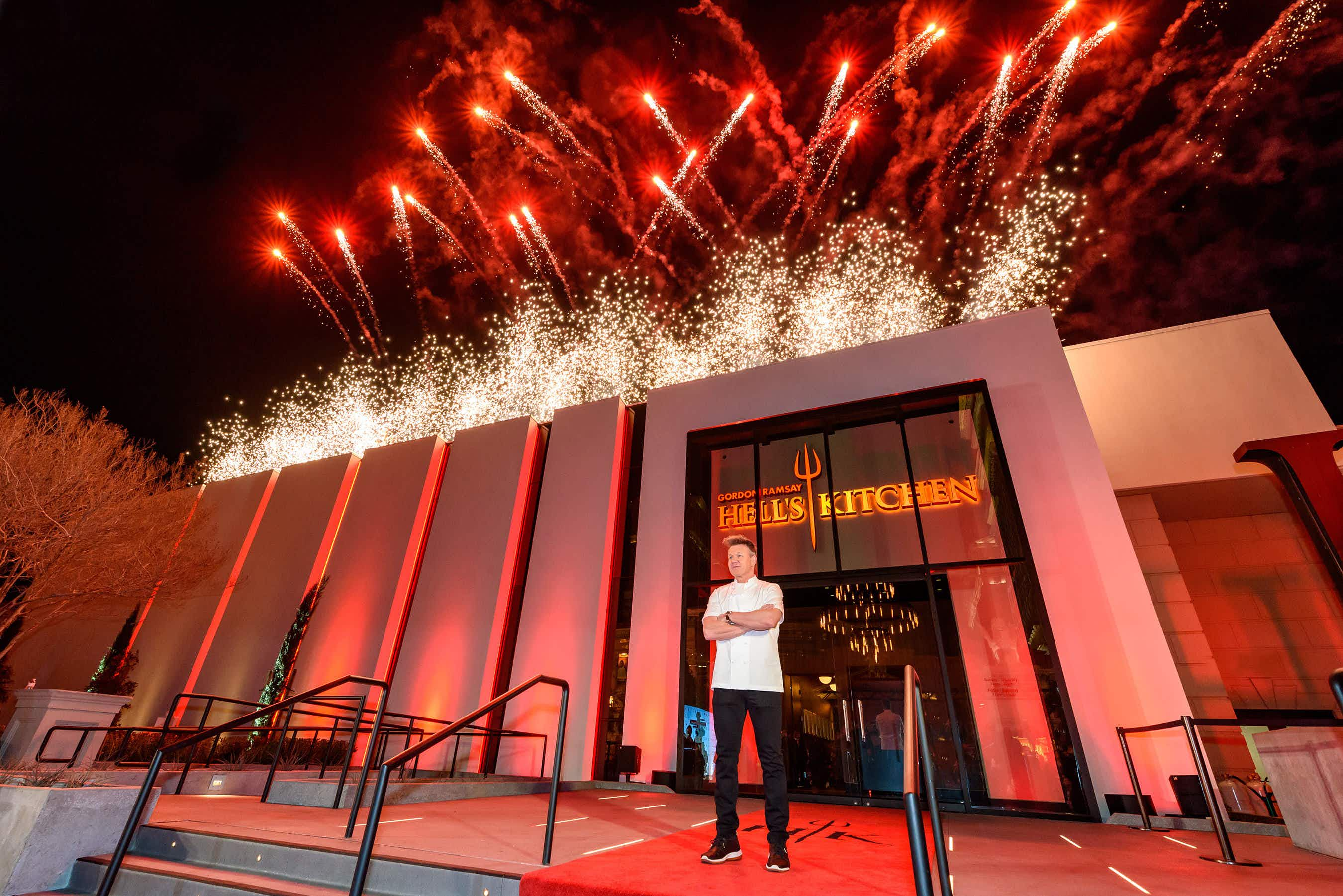 Thousands are waiting to visit Gordon Ramsay's new Hell's Kitchen restaurant in Las Vegas