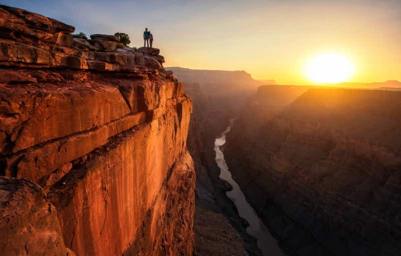 Zip line across the Grand Canyon in the thrill of a lifetime