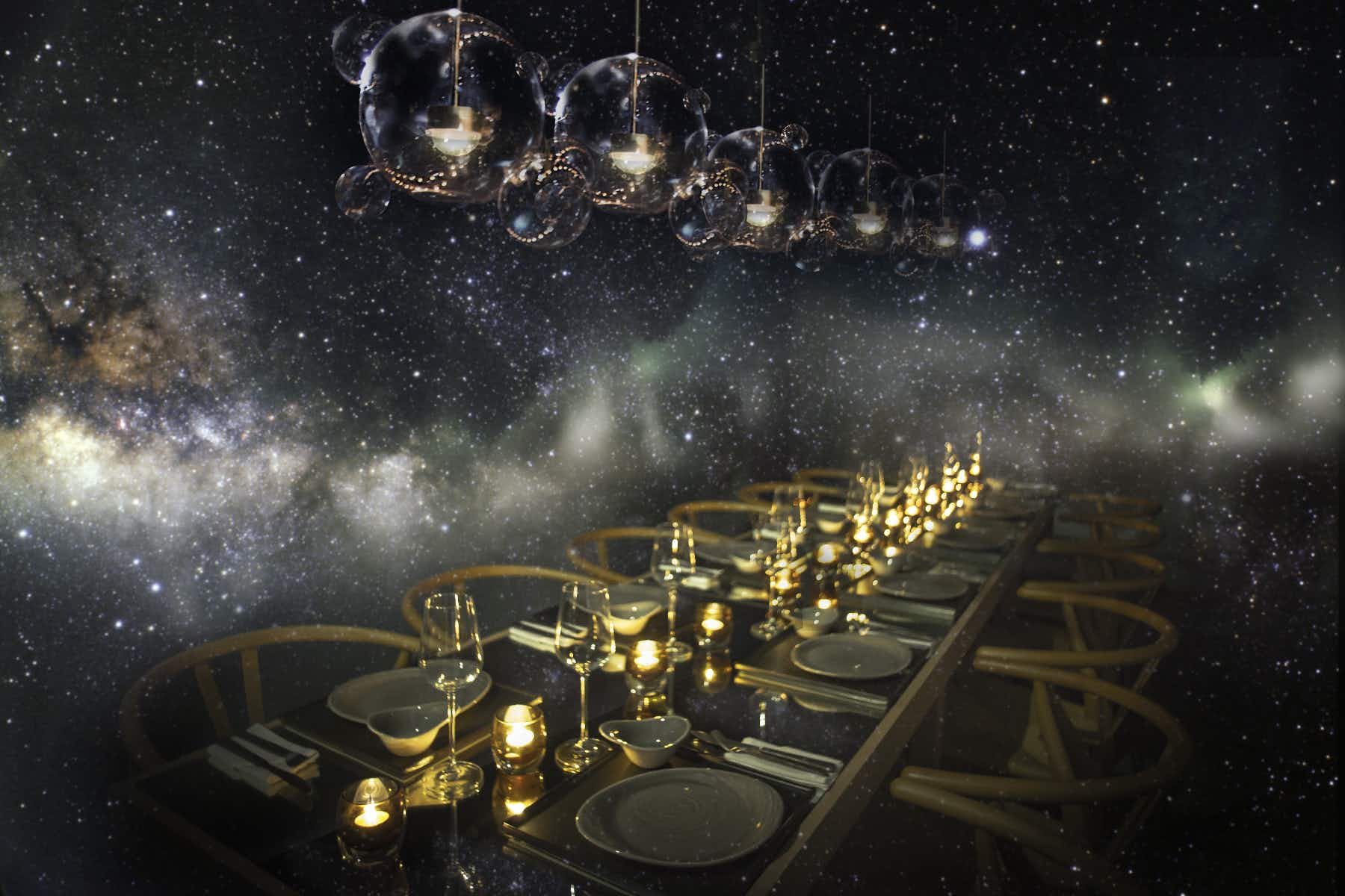 Find your lucky star at this celestial dining experience in Kuala Lumpur
