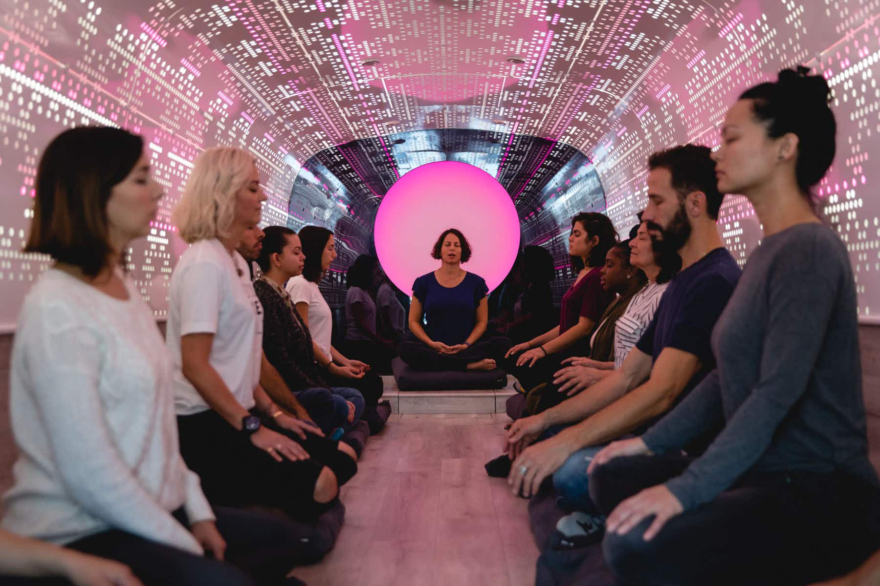 Meditate on the go with this moving studio in New York