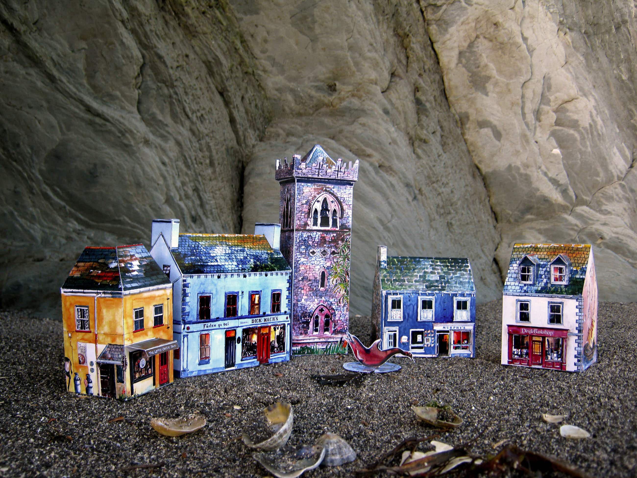 Bring home your very own tiny Irish village as a cute souvenir