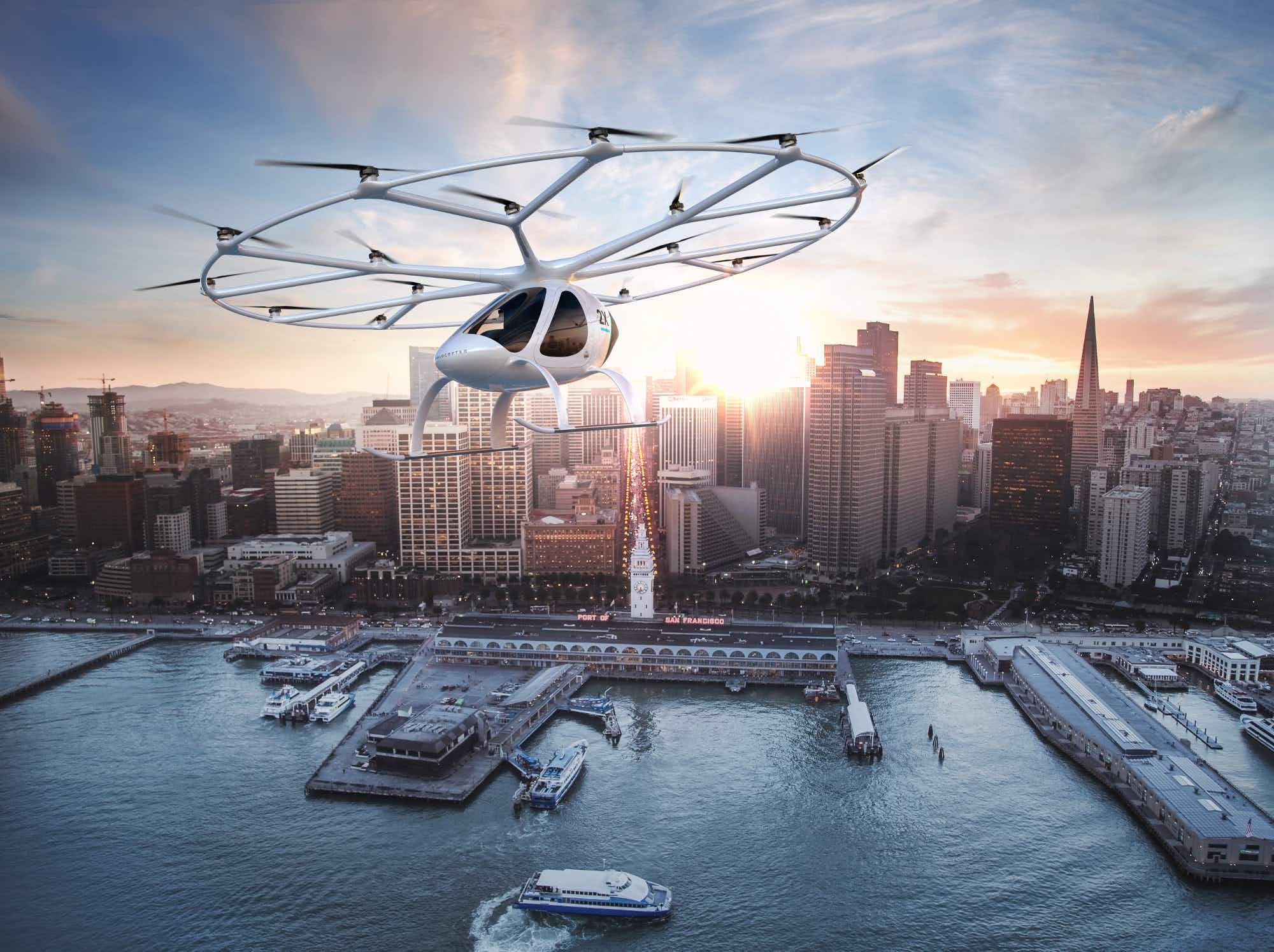 Introducing the Volocopter – the world's first flying passenger drone