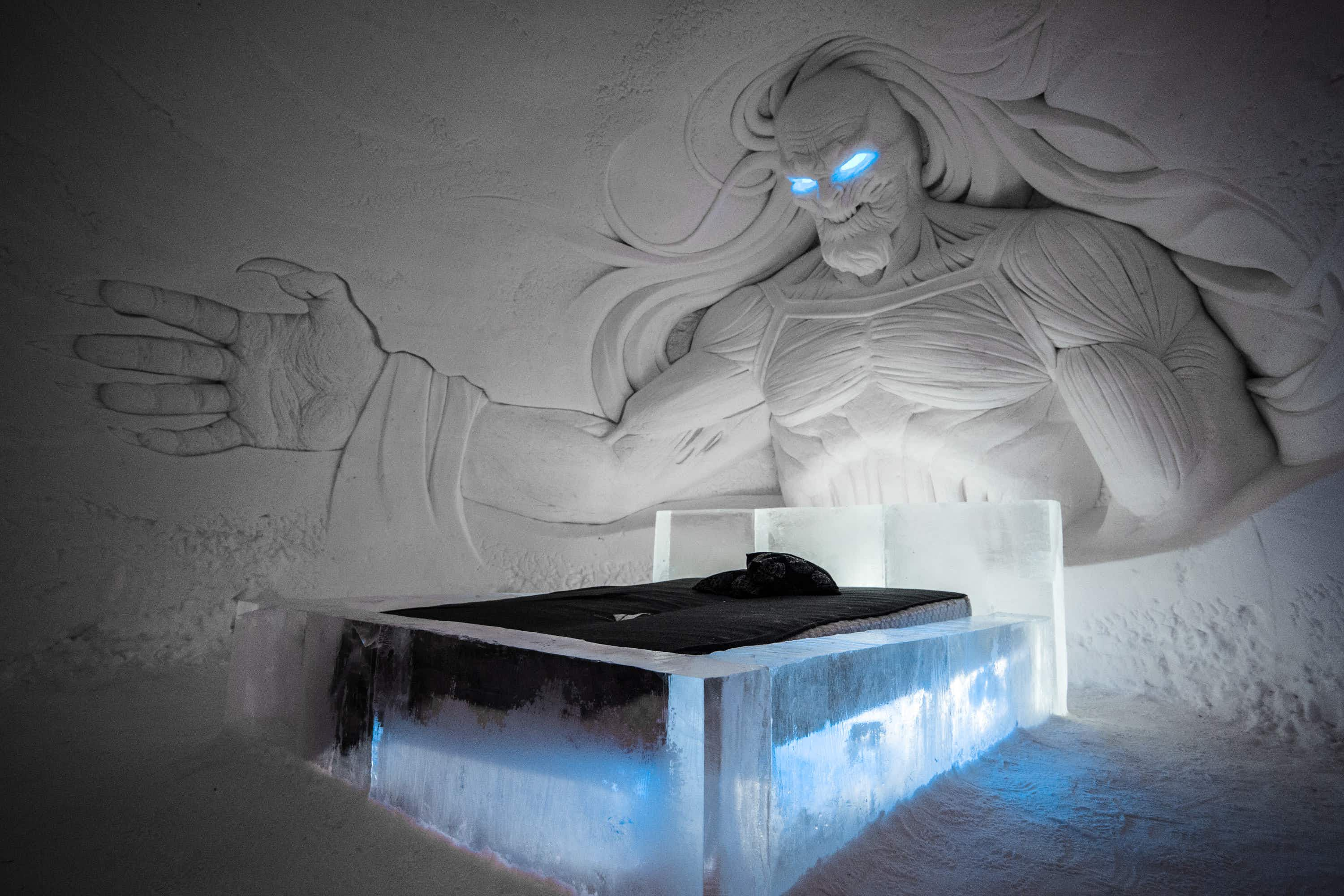 Inside the incredible Game of Thrones ice hotel in Finland