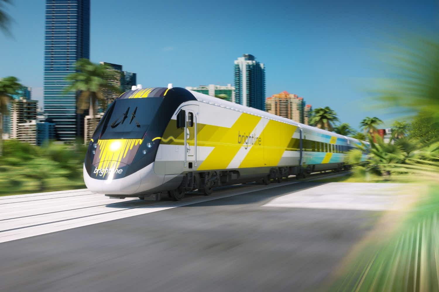 New express rail line to connect Miami and Orlando in three hours