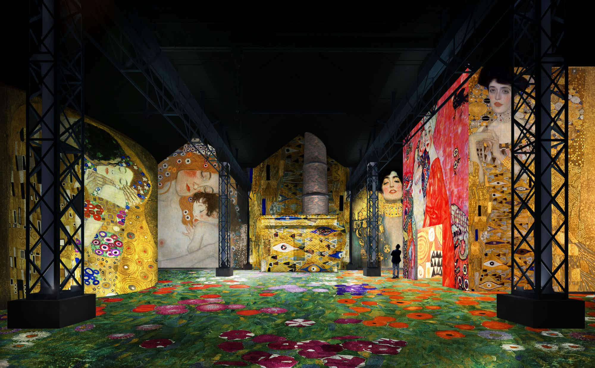 See this former foundry in Paris transformed into a giant colourful canvas