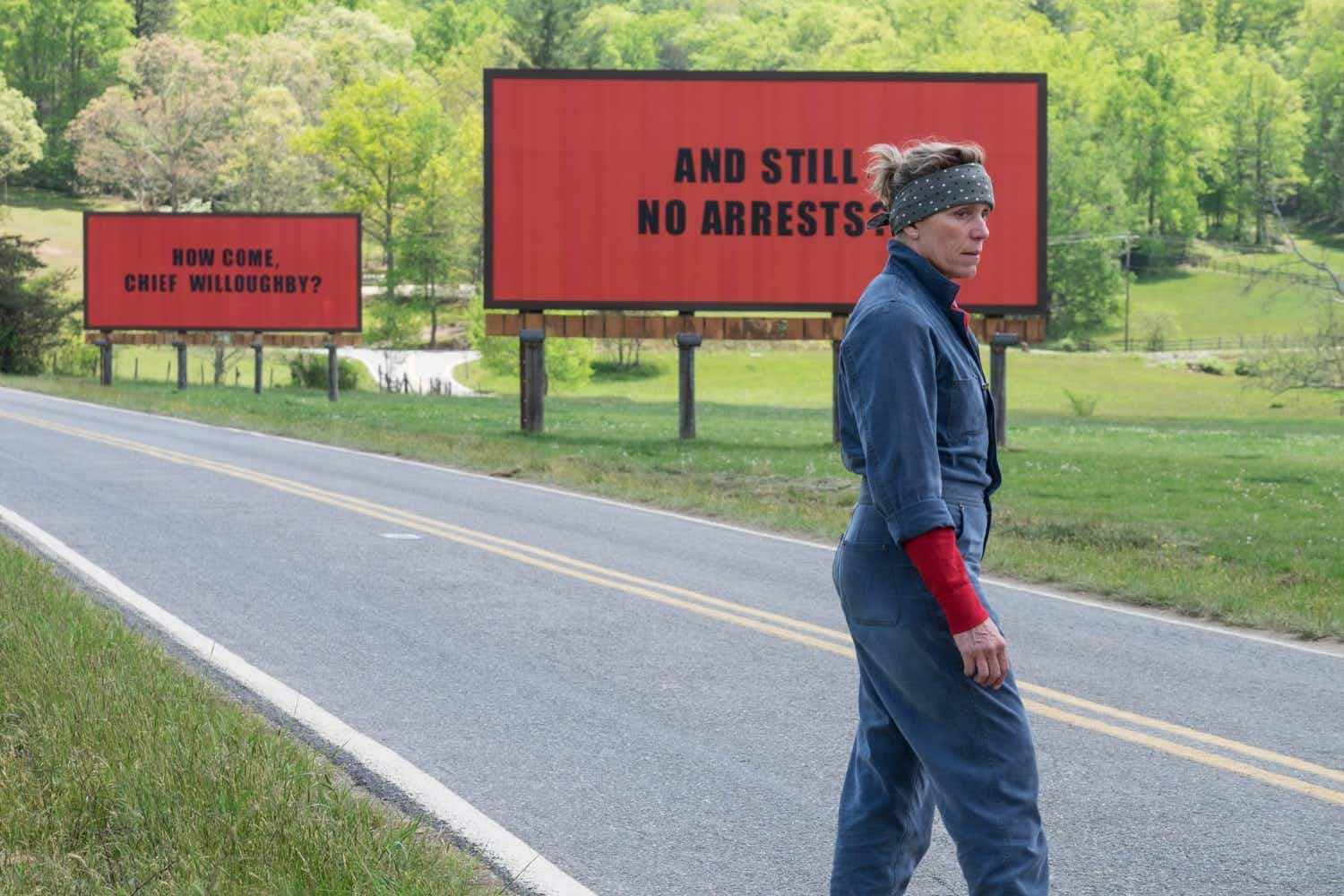 "Visit real life locations of ""Three Billboards Outside Ebbing, Missouri"" in North Carolina"