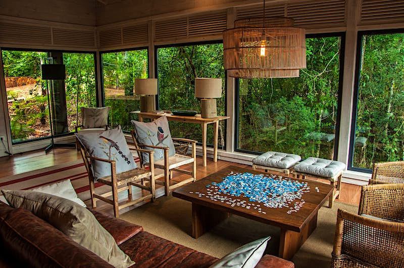 Each of the lodges is spread out in the jungle to ensure privacy, and come with a dedicated guide.