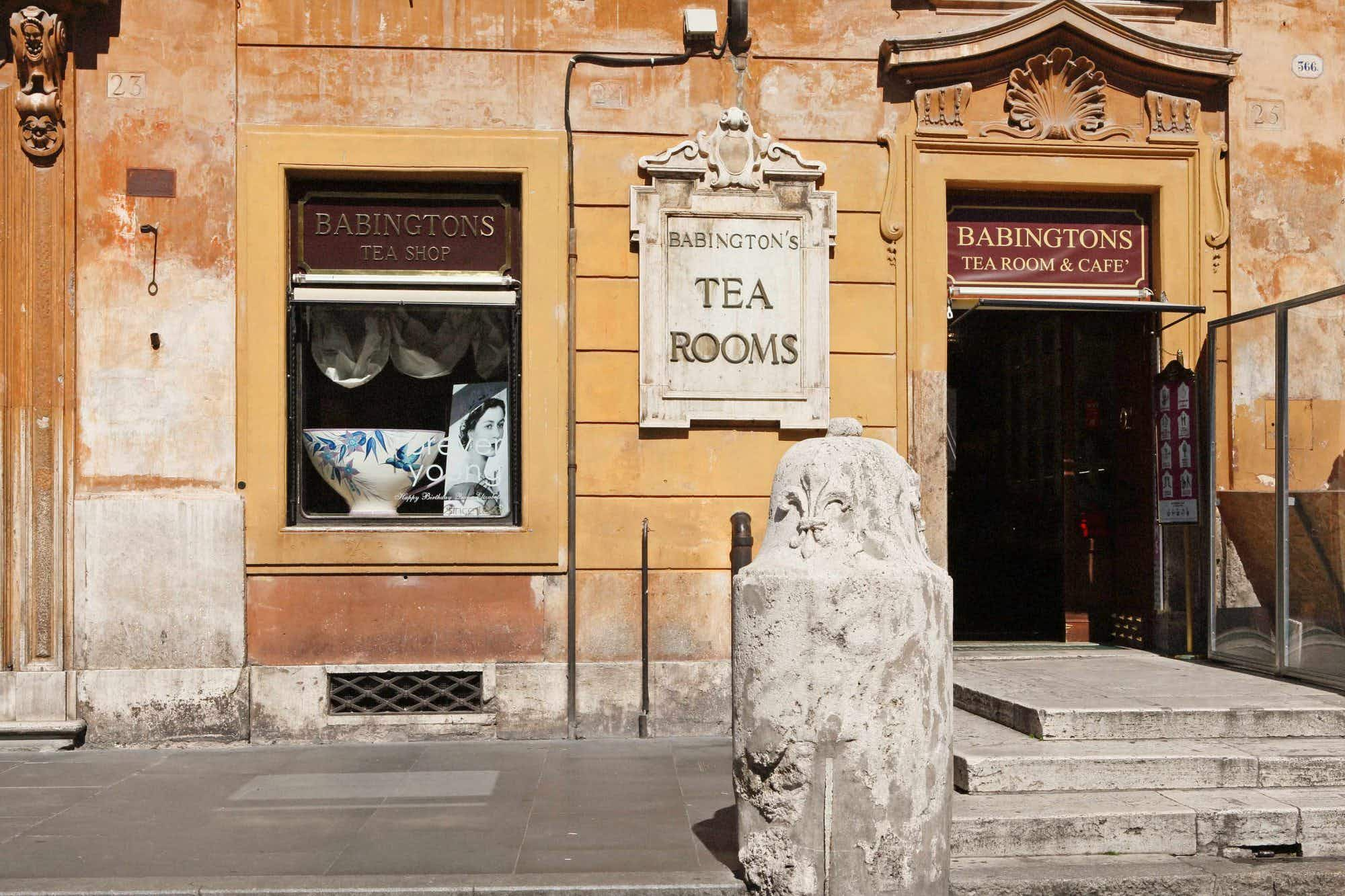 An historic tea house at the Spanish Steps in Rome celebrates 125 years in business