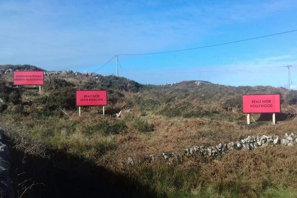 Martin McDonagh thanks his Irish ancestral home for erecting Three Billboards in his honour