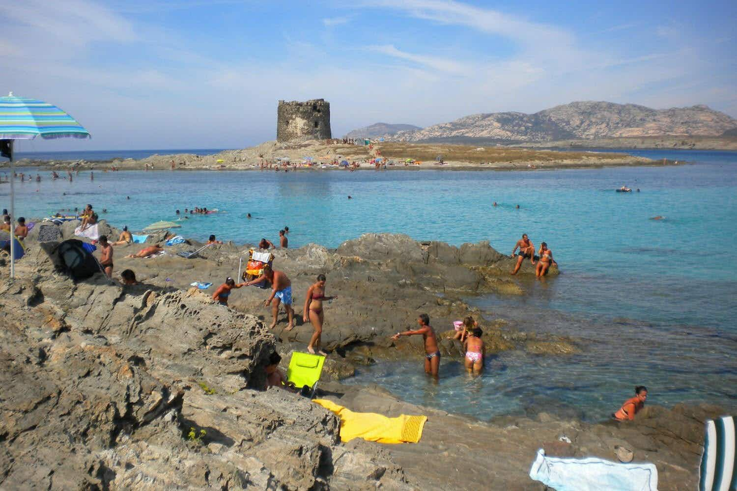 A town in Sardinia may ban towels to protect its popular sandy beach
