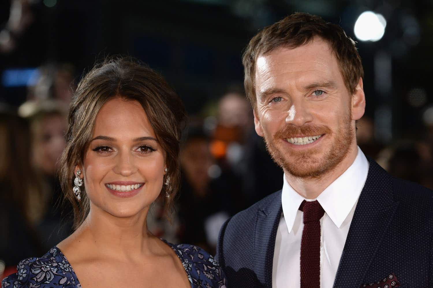Like Madonna, Alicia Vikander and Michael Fassbender have now moved to Lisbon