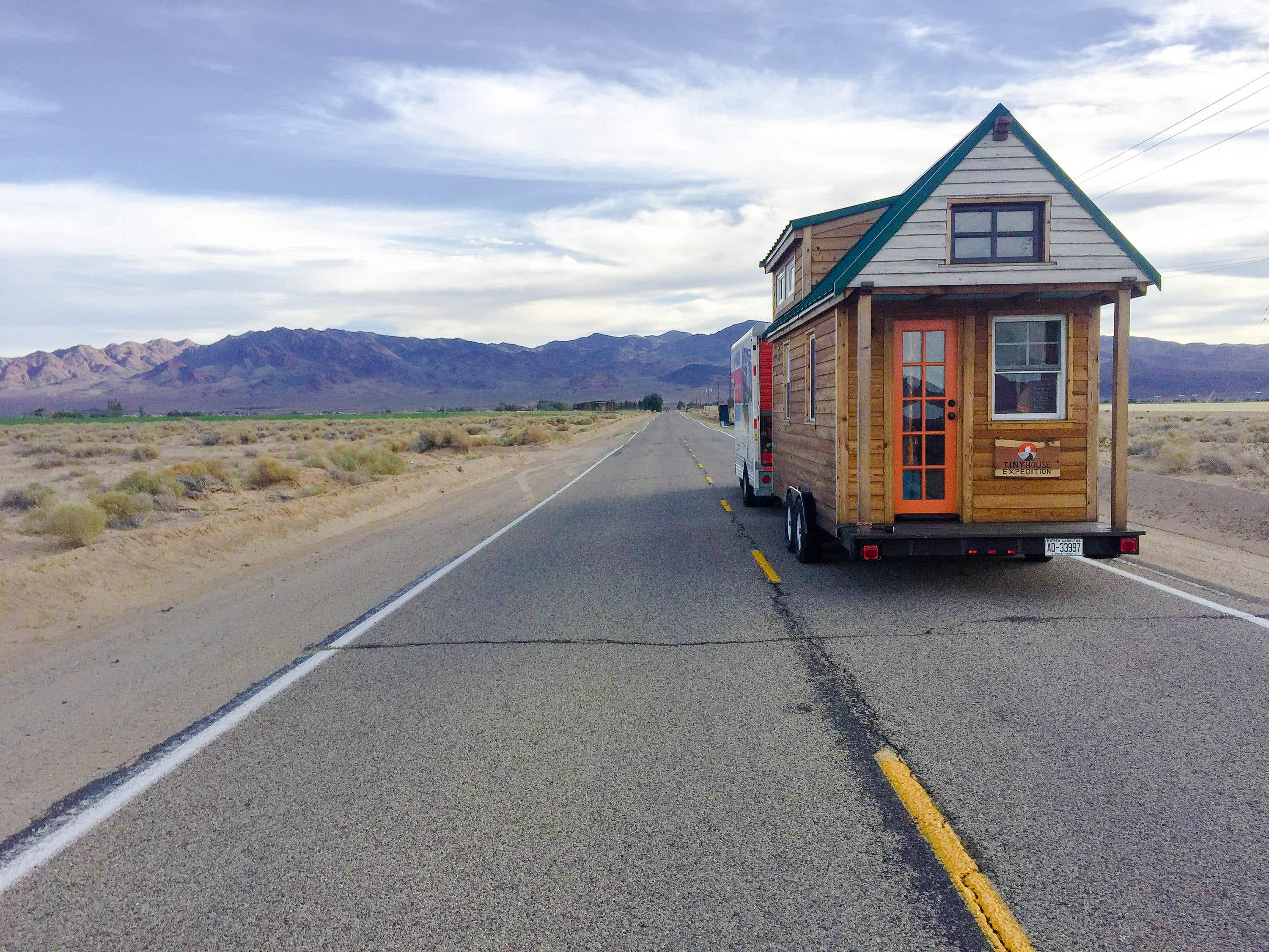 'We put our tiny house on wheels and travelled 45,000 miles across North America'