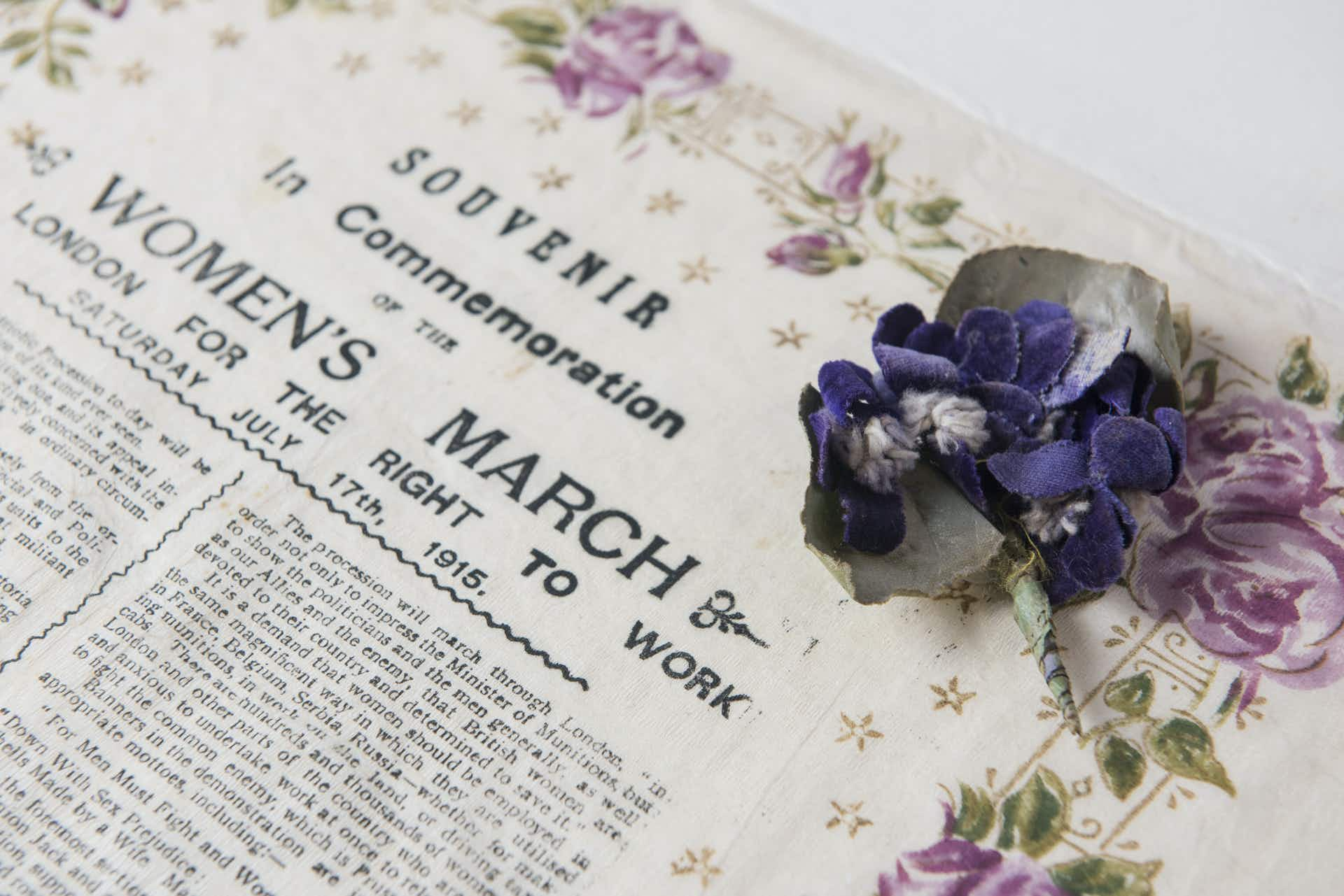 England is honouring the Suffragettes with a year-long celebration of women