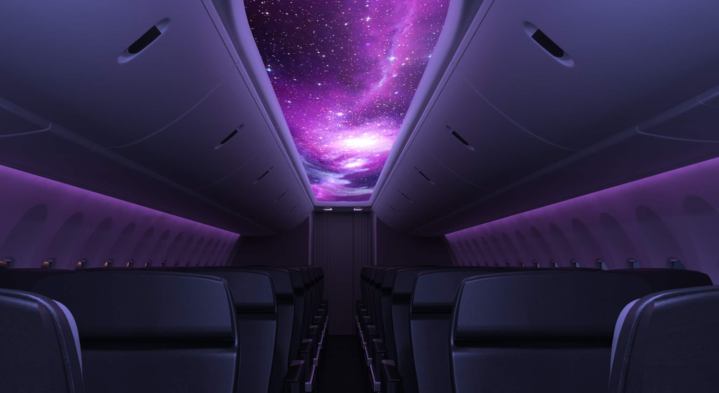 Hotel rooms in the sky - see how you'll be flying in the future