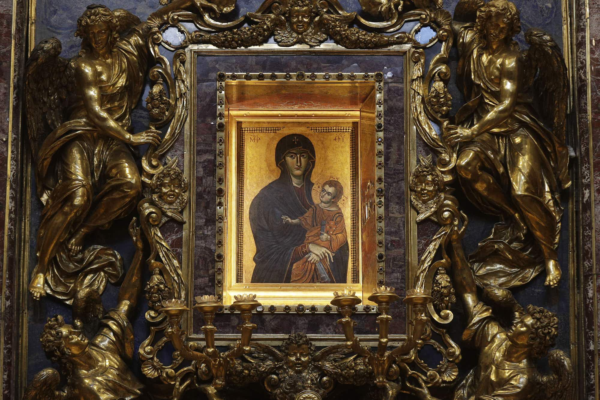 Pope Francis's favourite painting gets a makeover in Rome