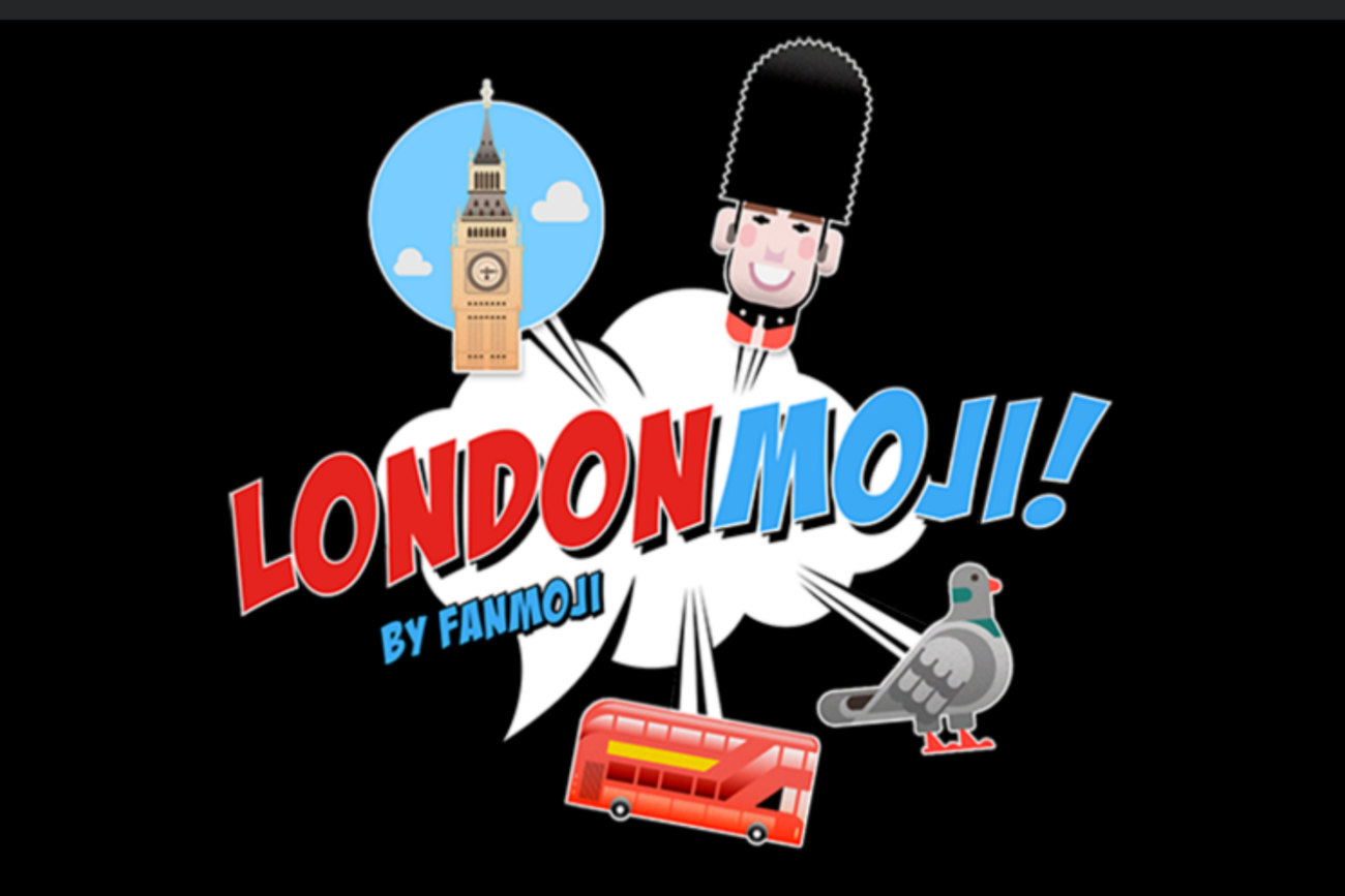 Are you visiting London? There's a set of emoji stickers for that