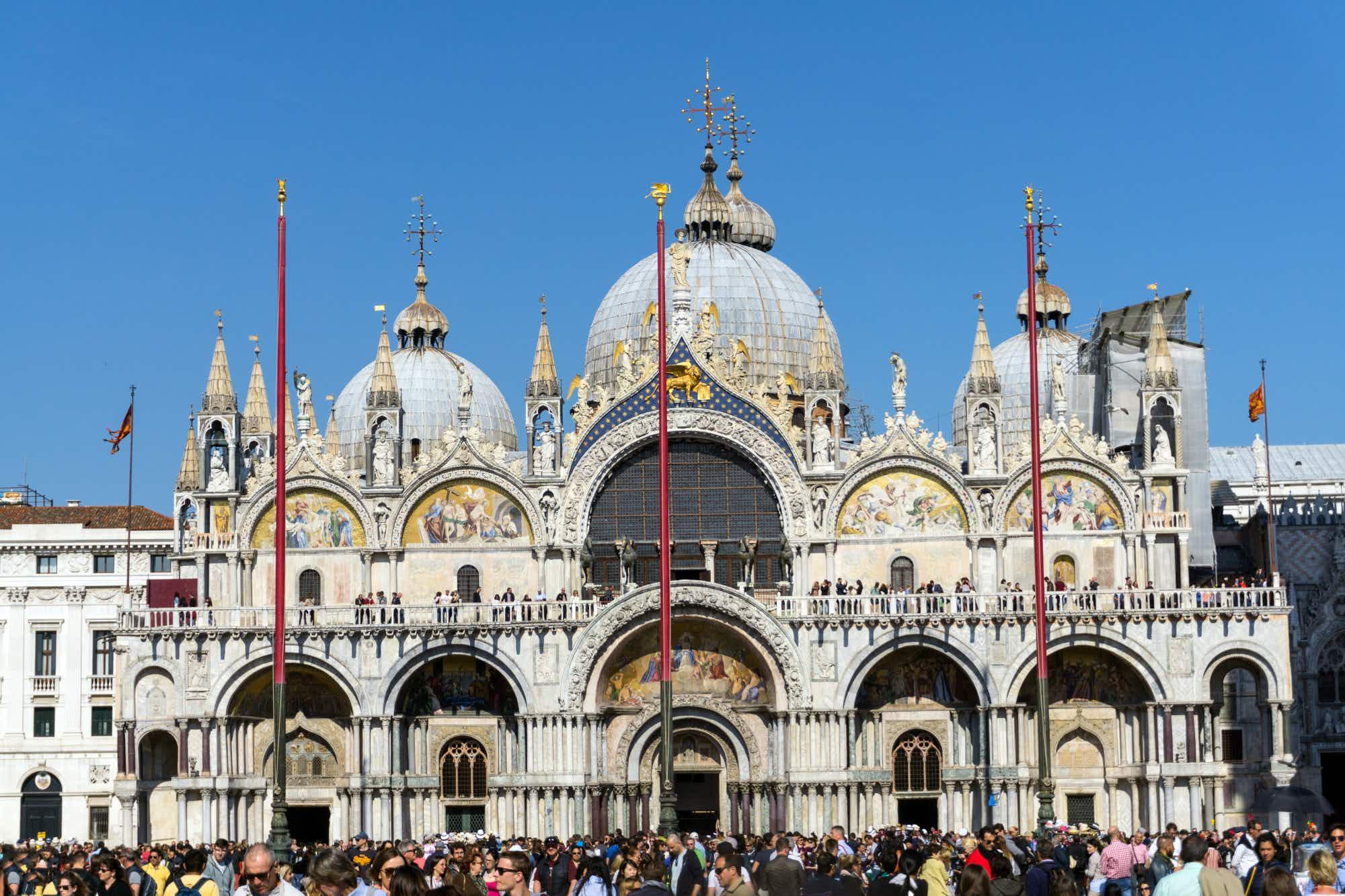 St Mark's mosaics return to shimmering splendour in Venice