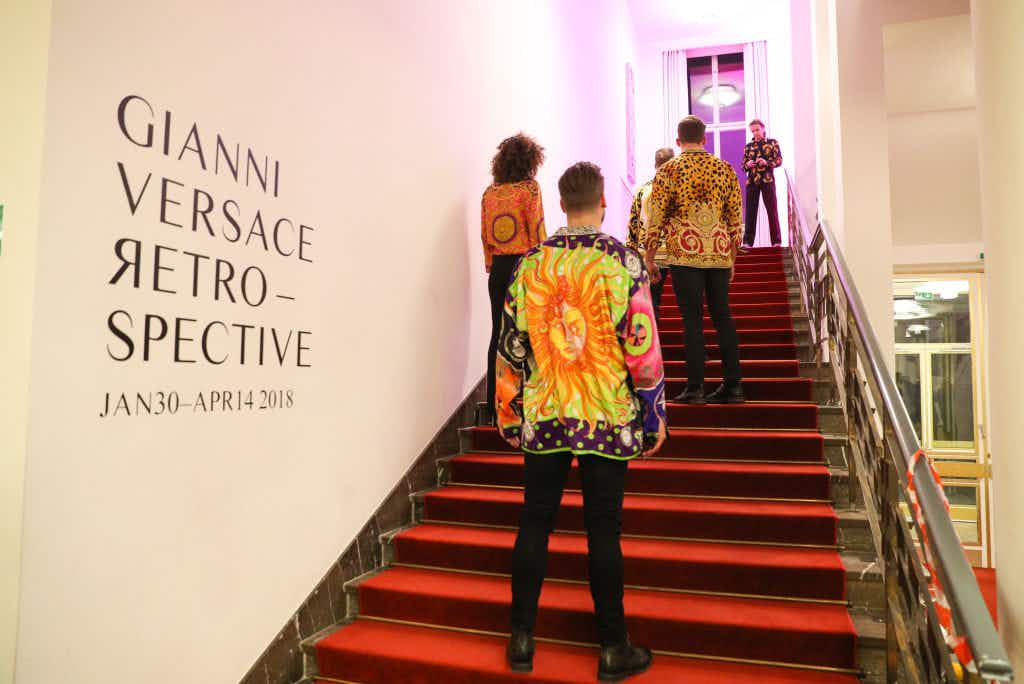 Gianni Versace's most iconic designs are now on display in a retrospective in Berlin