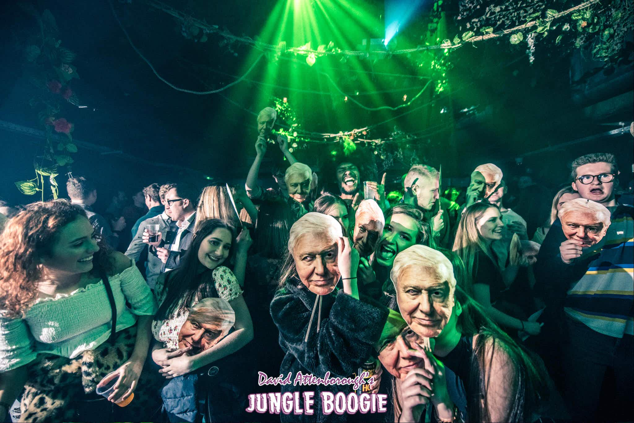 David Attenborough-themed raves are popping up all over the UK