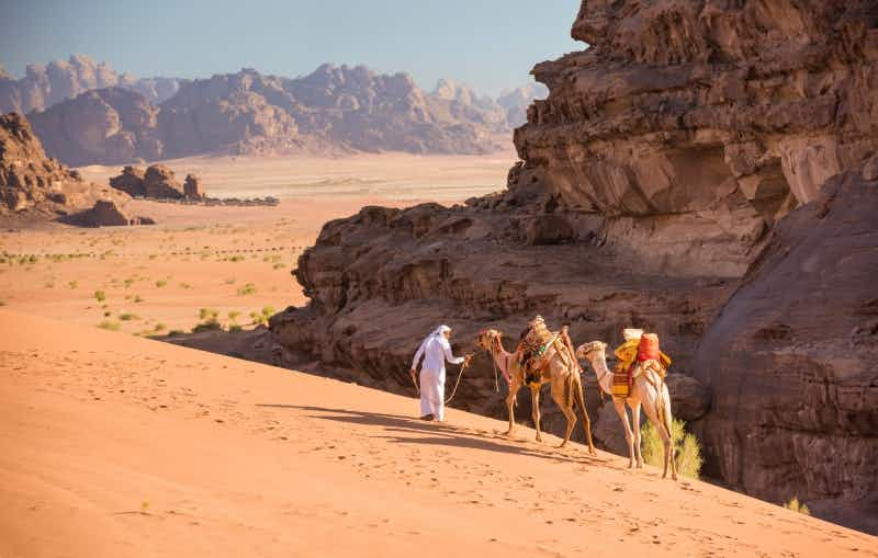 Sign up now to hike the epic 40 day Jordan Trail this year