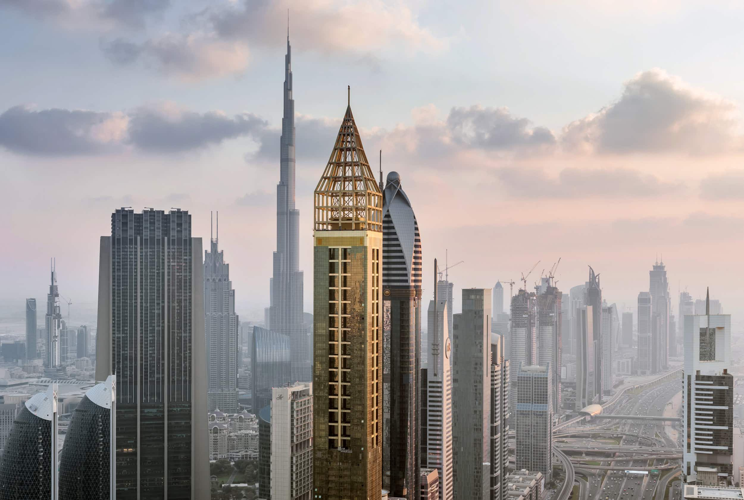 Dubai breaks its own world record and completes the tallest hotel in the world