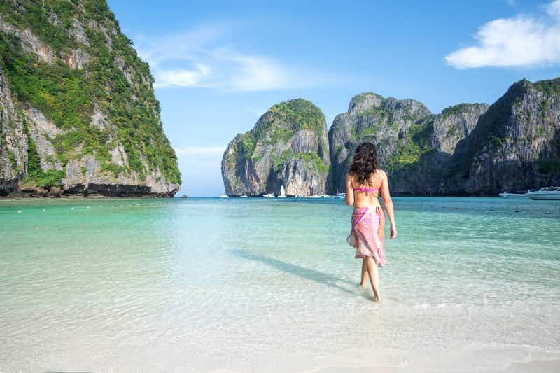Thailand's most famous beach is now closed indefinitely