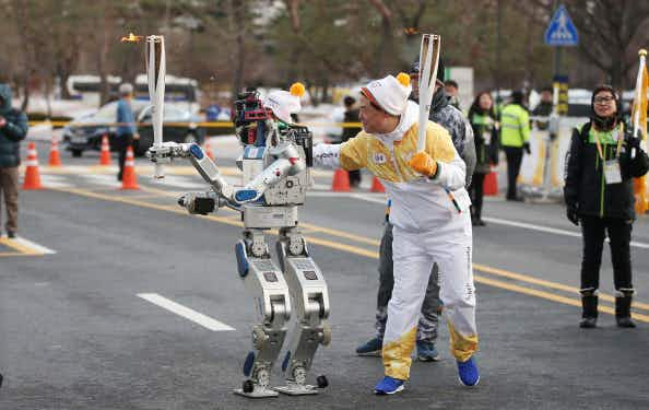 Robots are set to have starring role at the Winter Olympics in Korea