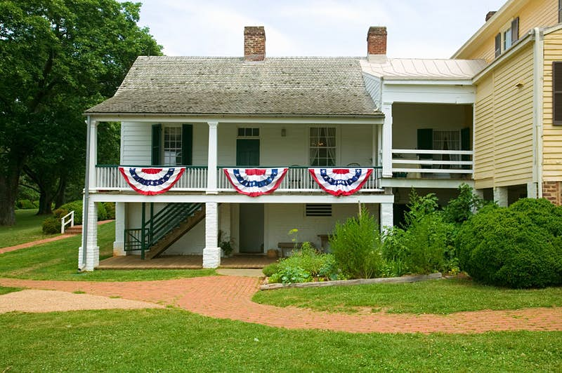 Ash Lawn-Highland Home of President James Monroe, Albemarle County, Virginia