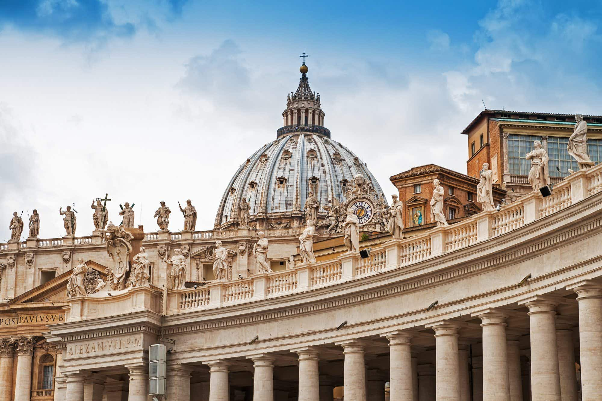 Second entrance to Vatican Museums in the works