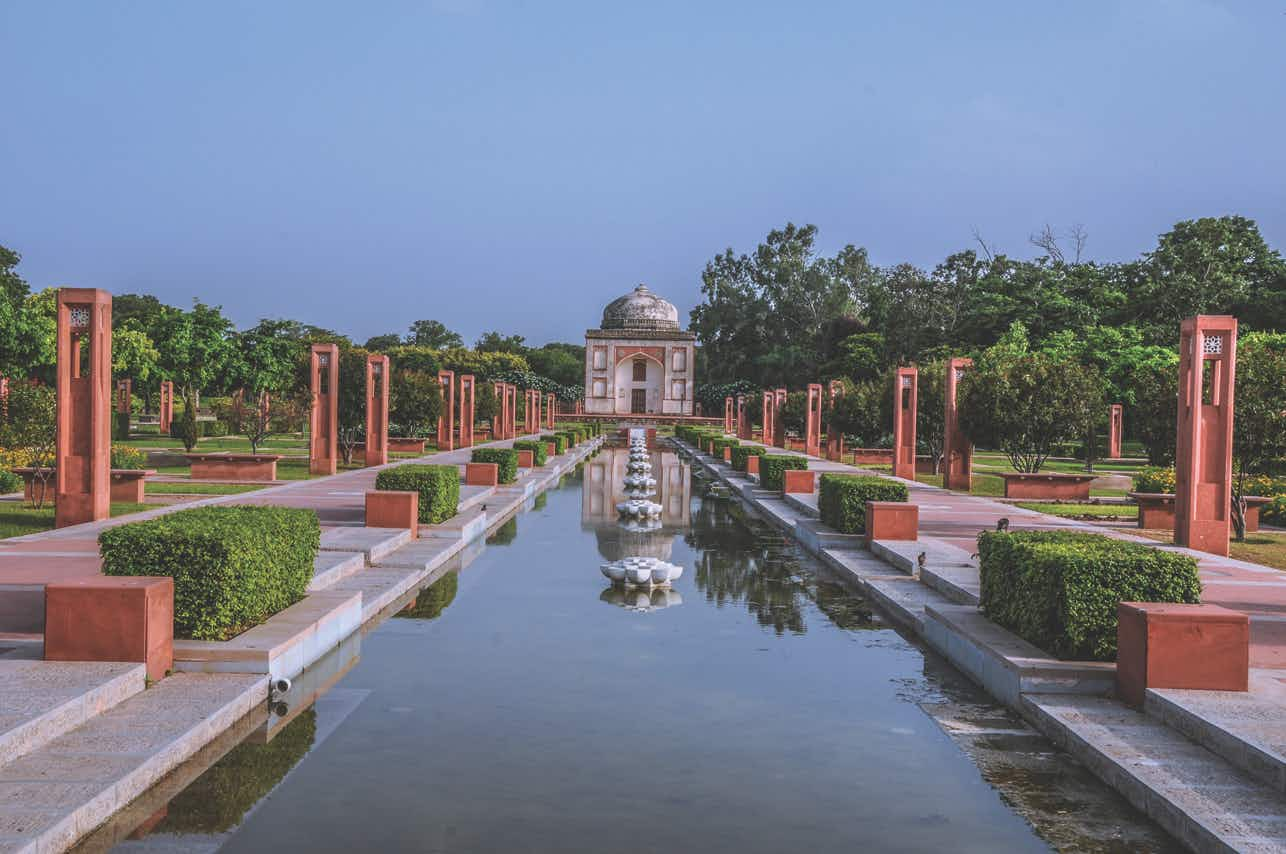 Delhi park containing World Heritage monuments reopens after ten years