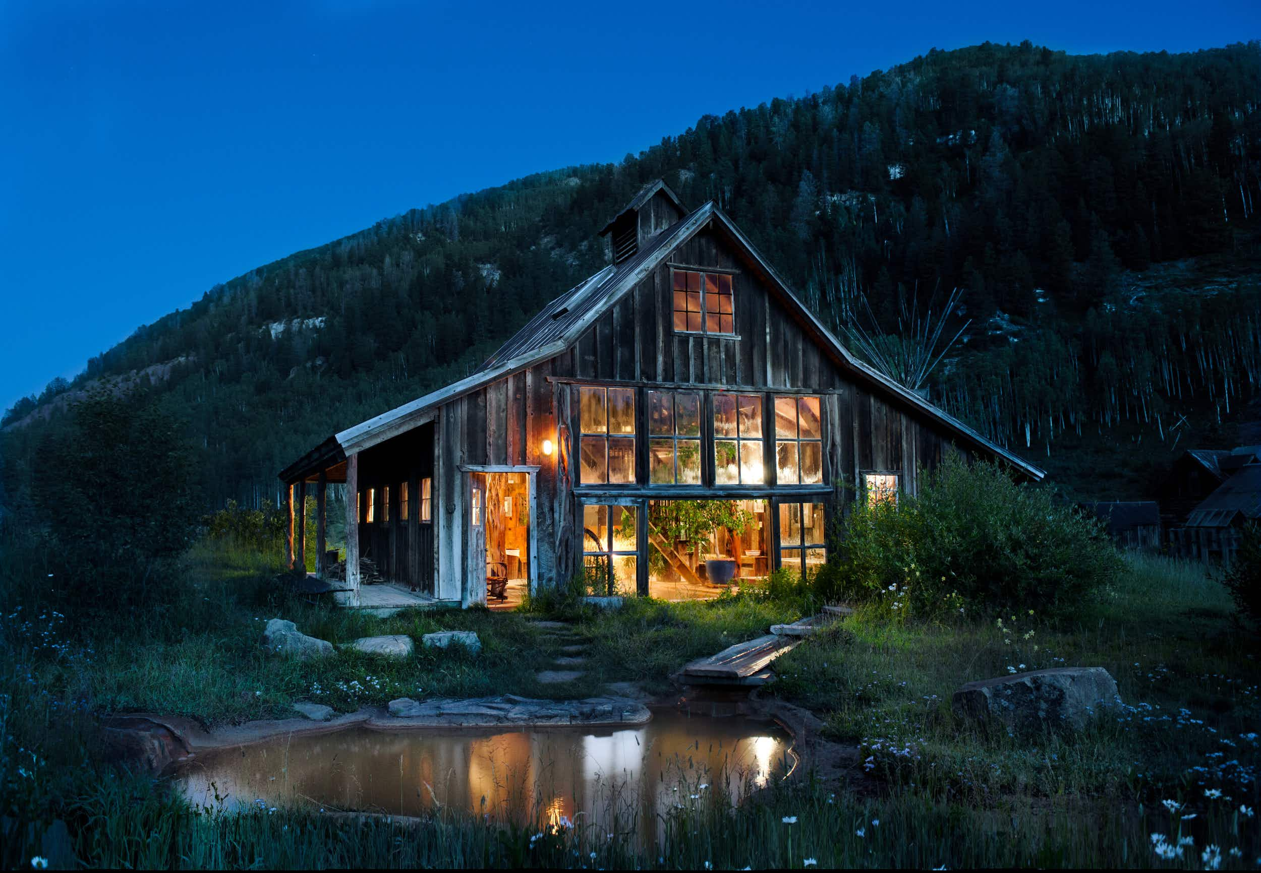 Escape to nature at this stunning former ghost town in Colorado's Rocky Mountains