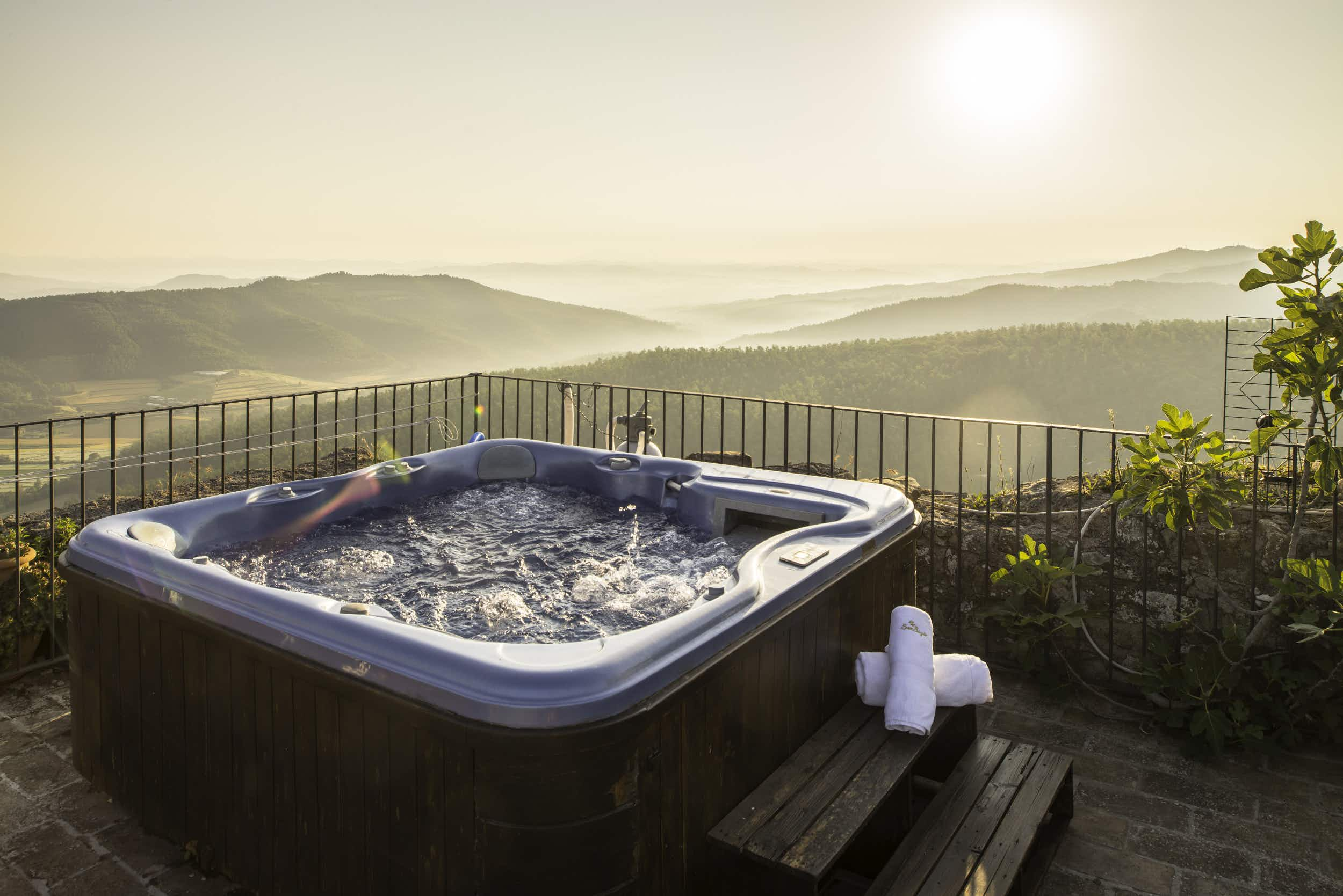 Are these the best hot tub views around the world?