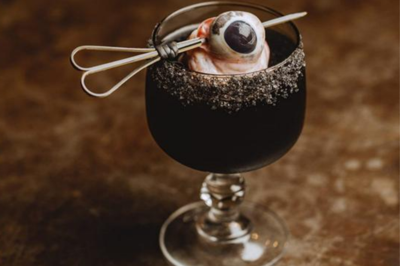 Is this bull's eye cocktail the most shocking drink ever to grace a menu?