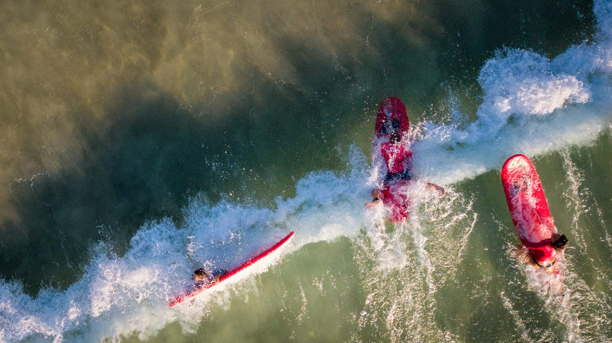 These artistic shots show surfing from a whole new angle