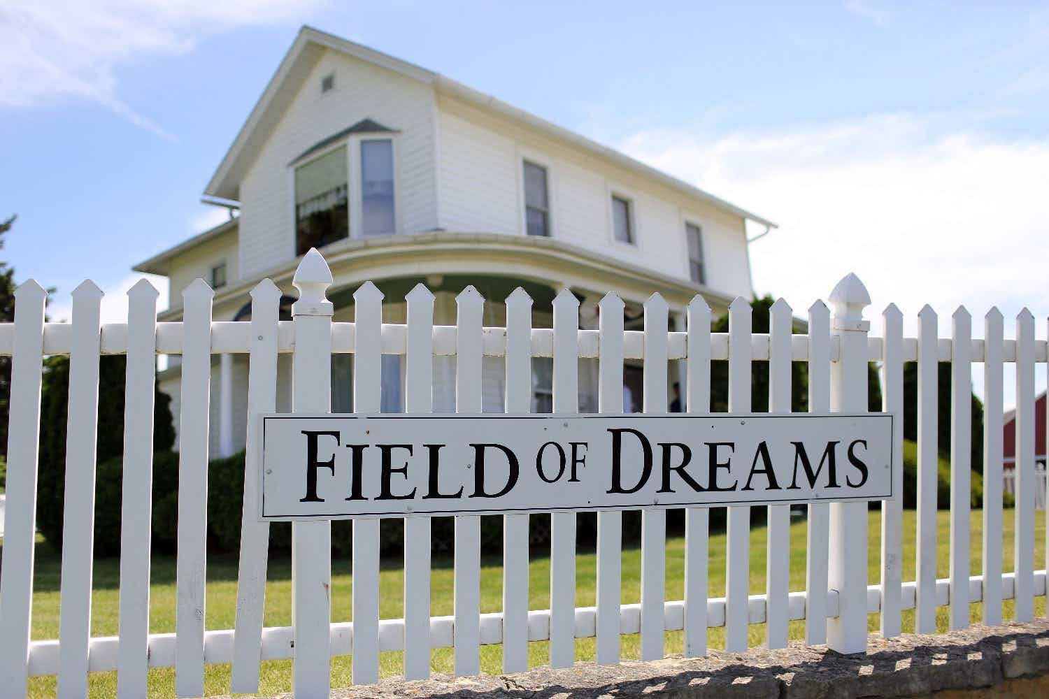 Spend the night at the iconic Field of Dreams house in Iowa
