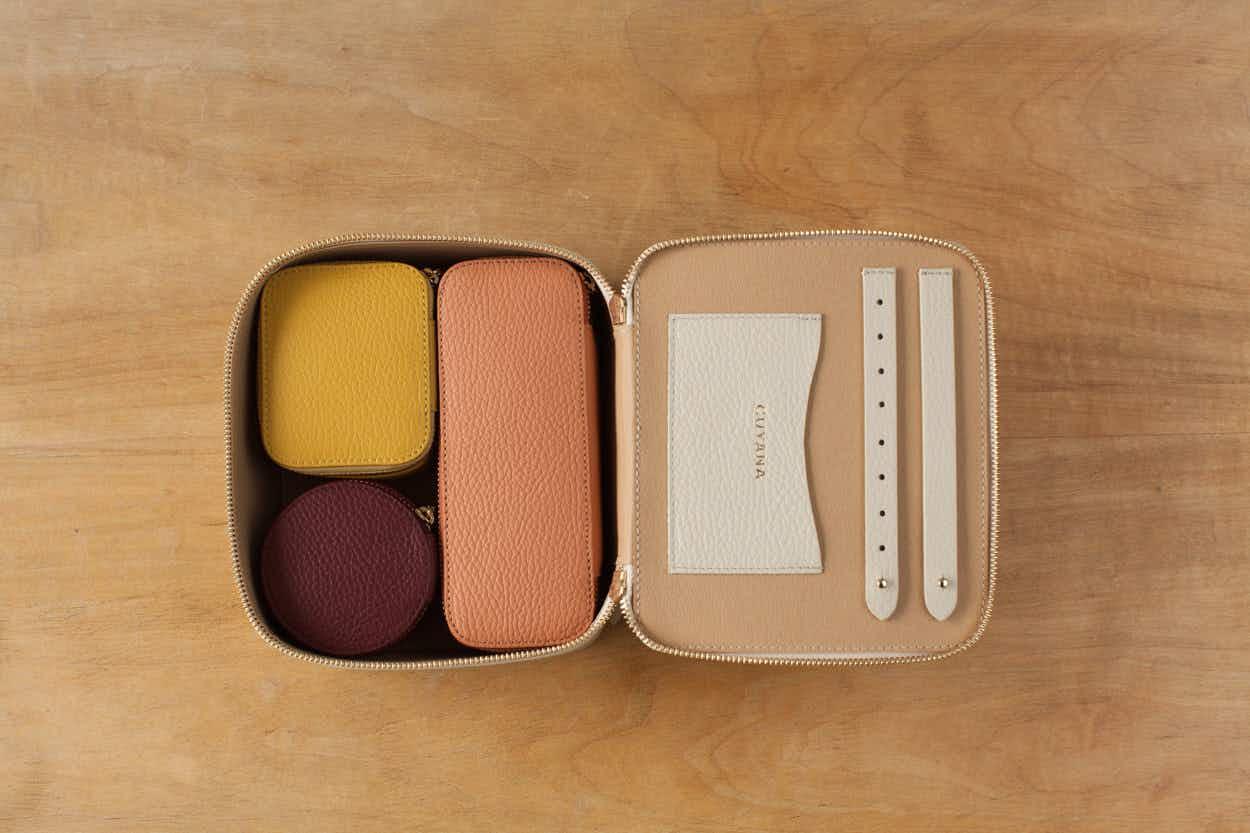 Organise your accessories with decluttering guru Marie Kondo's new travel cases