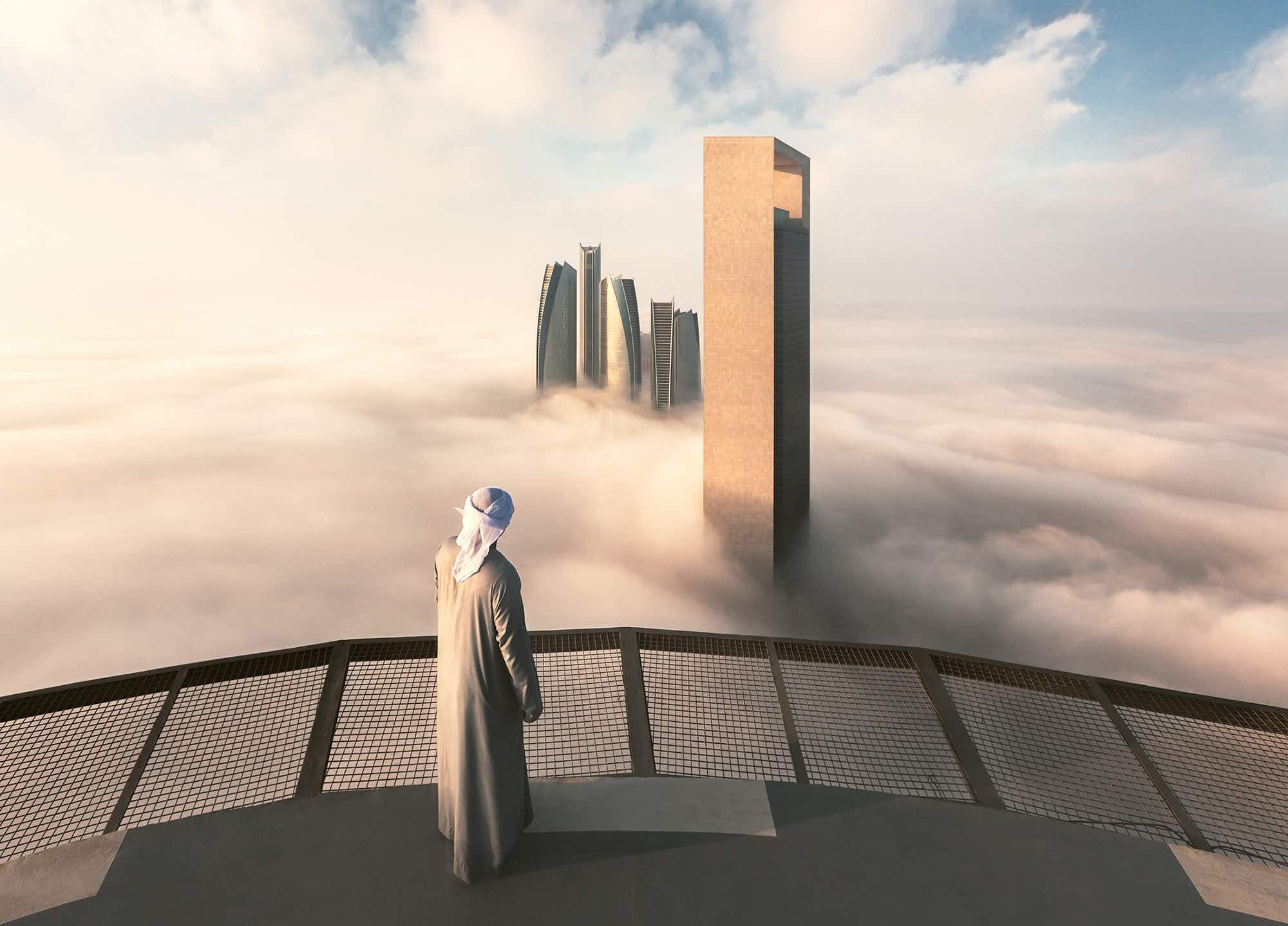 See Abu Dhabi looking absolutely dreamy during 'fog season'