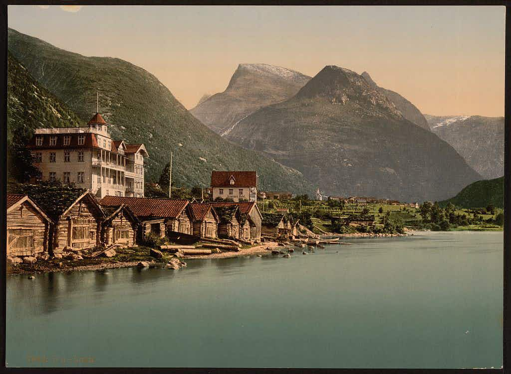 The stunning beauty of Norway in the nineteenth century