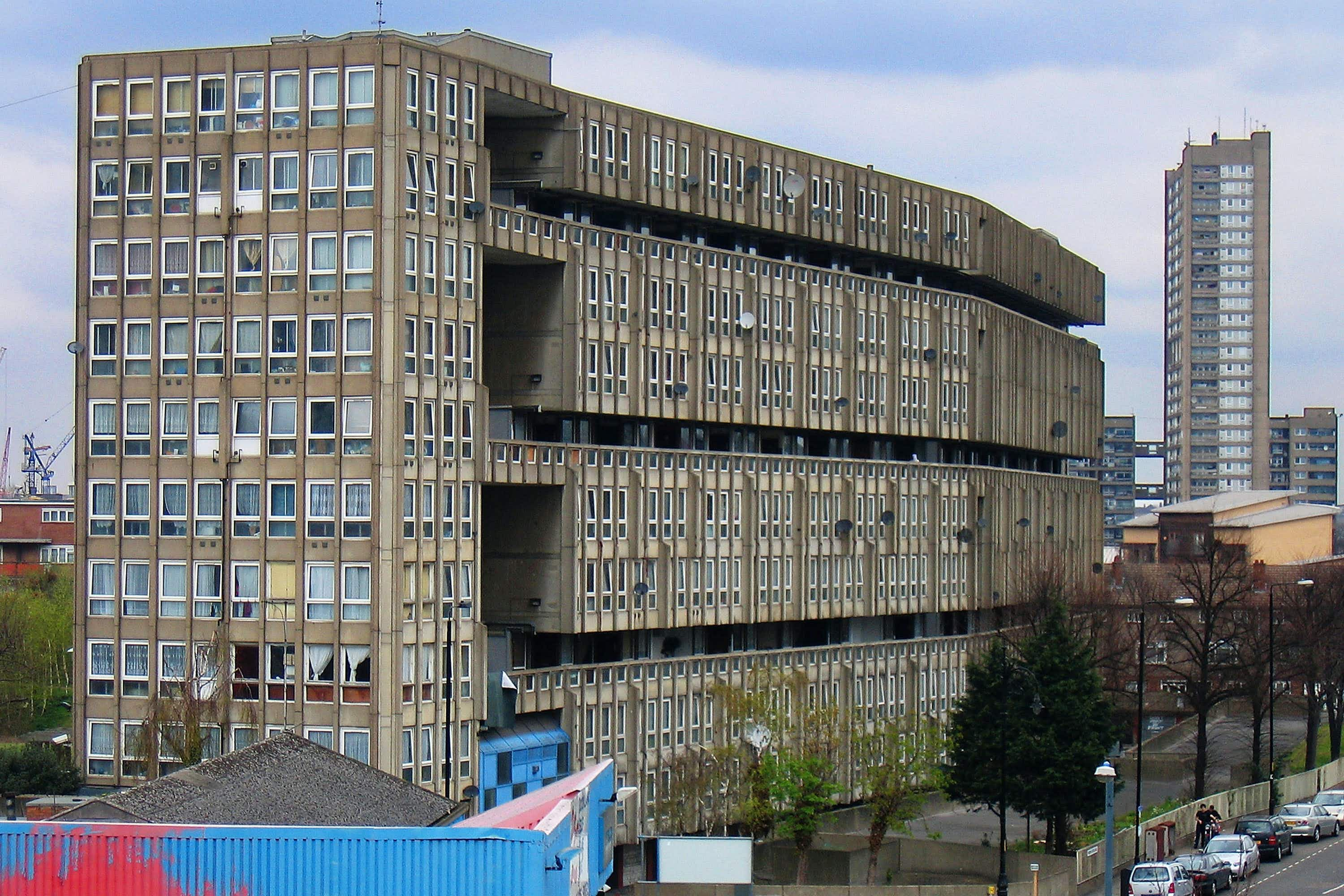 A section of a London council estate is being taken to Venice Biennale
