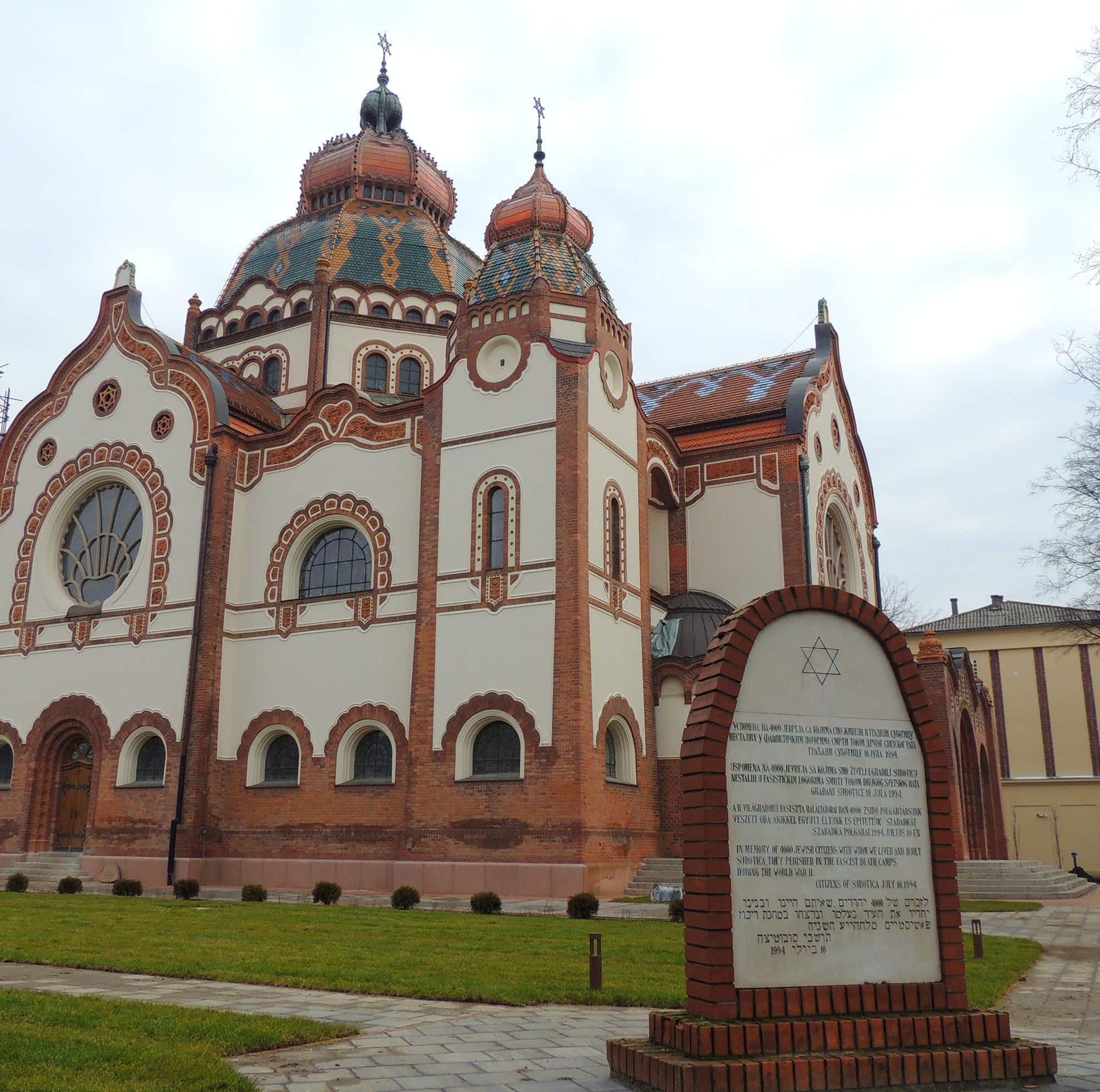 See the splendid art nouveau Subotica synagogue in Serbia restored to its full glory