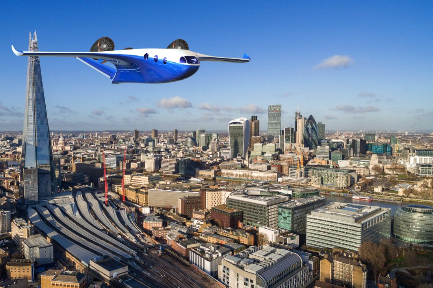 Is this the future of travel? This airplane takes off like a helicopter