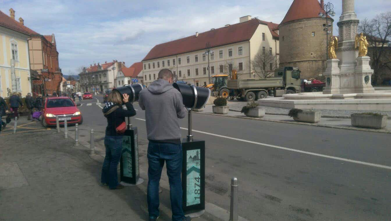 VR technology gives Zagreb visitors a glimpse of the past