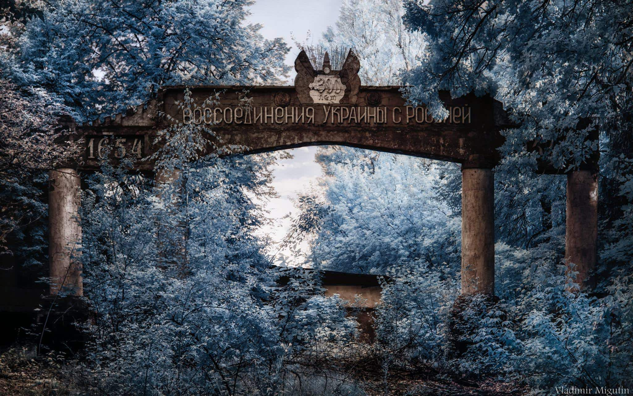 See the eerie Chernobyl exclusion zone captured in infrared