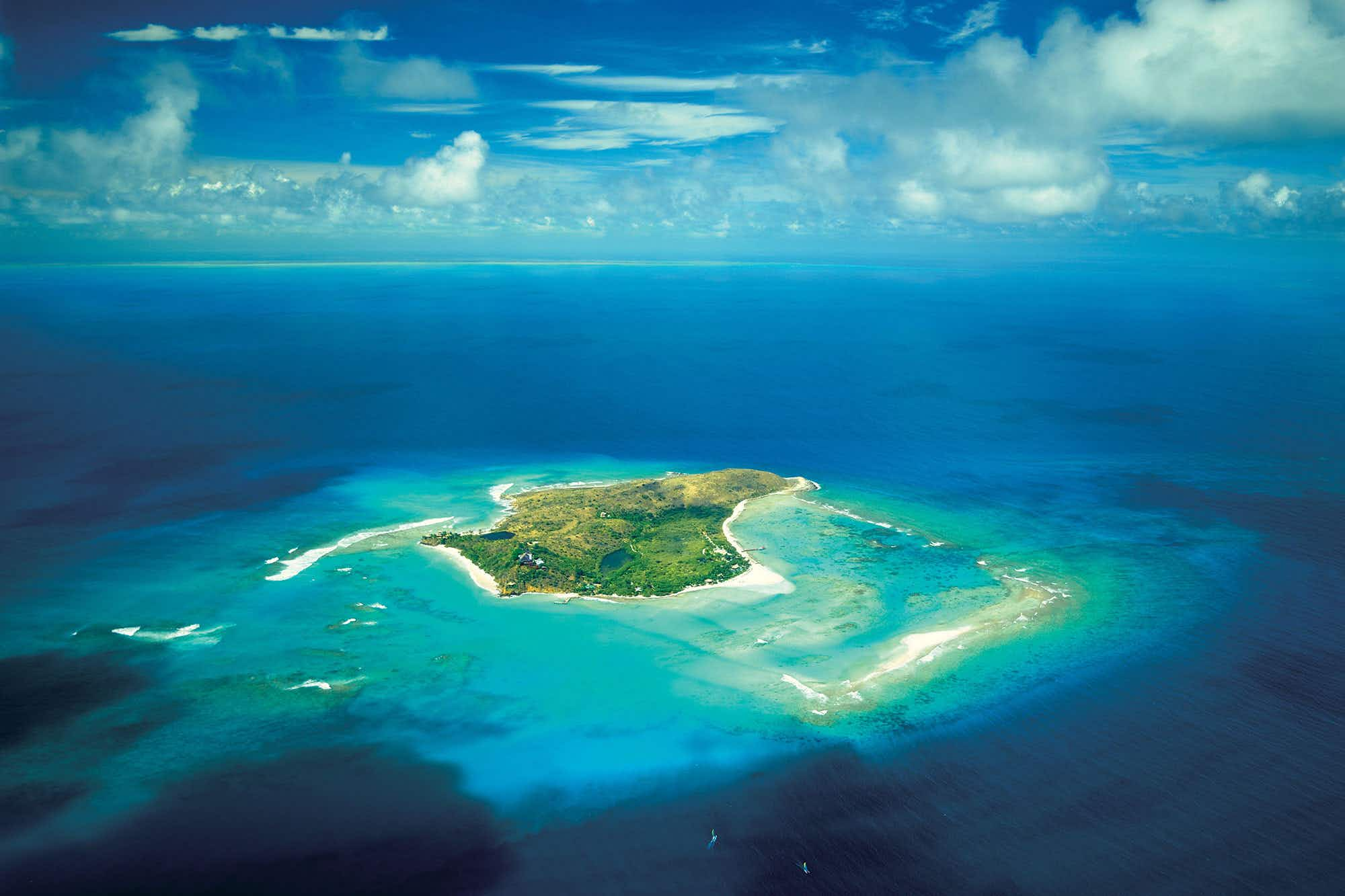 Get a job on Richard Branson's private island in the Caribbean