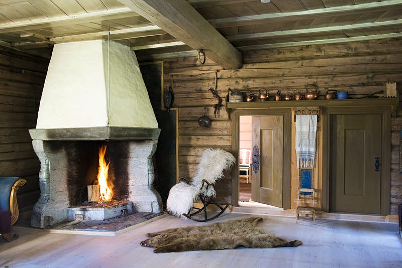 Stay in a grass-topped 17th century barn at this stunning