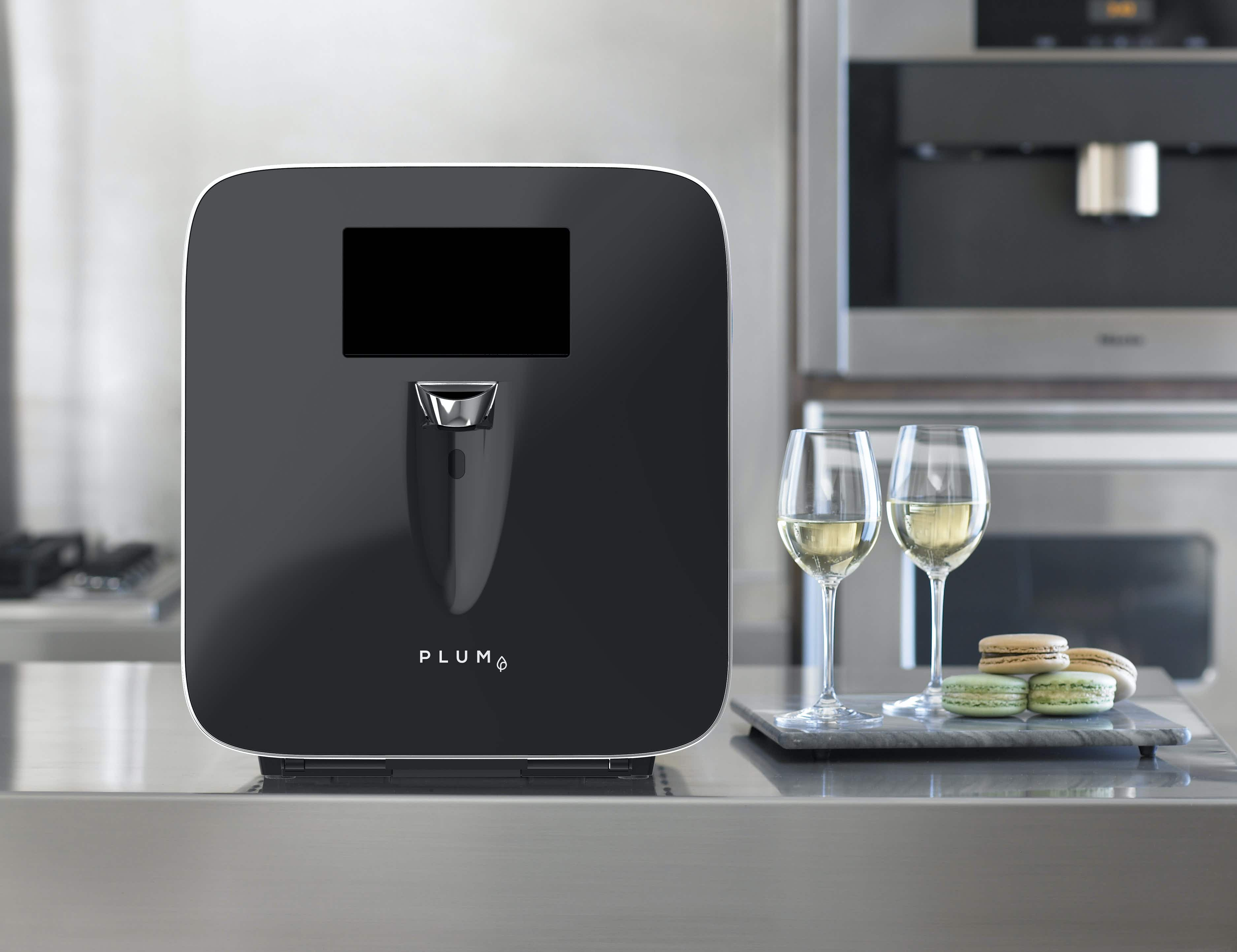 The future of hotel minibars is here; a machine that serves wine by the glass