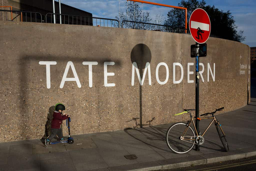 The Tate Modern saw more visitors last year than the National Gallery in London